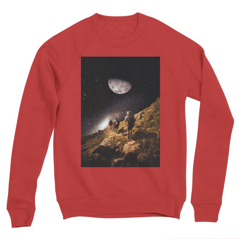 Traverse Men's Sponge Fleece Sweatshirt by nicebleed