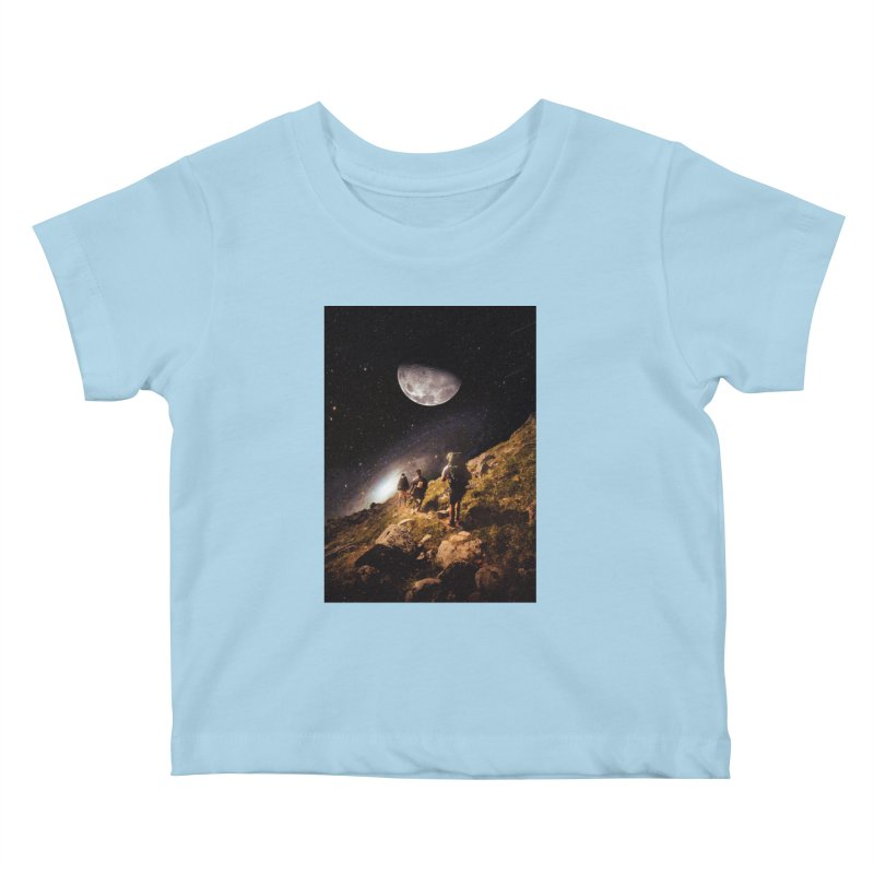 Traverse Kids Baby T-Shirt by nicebleed