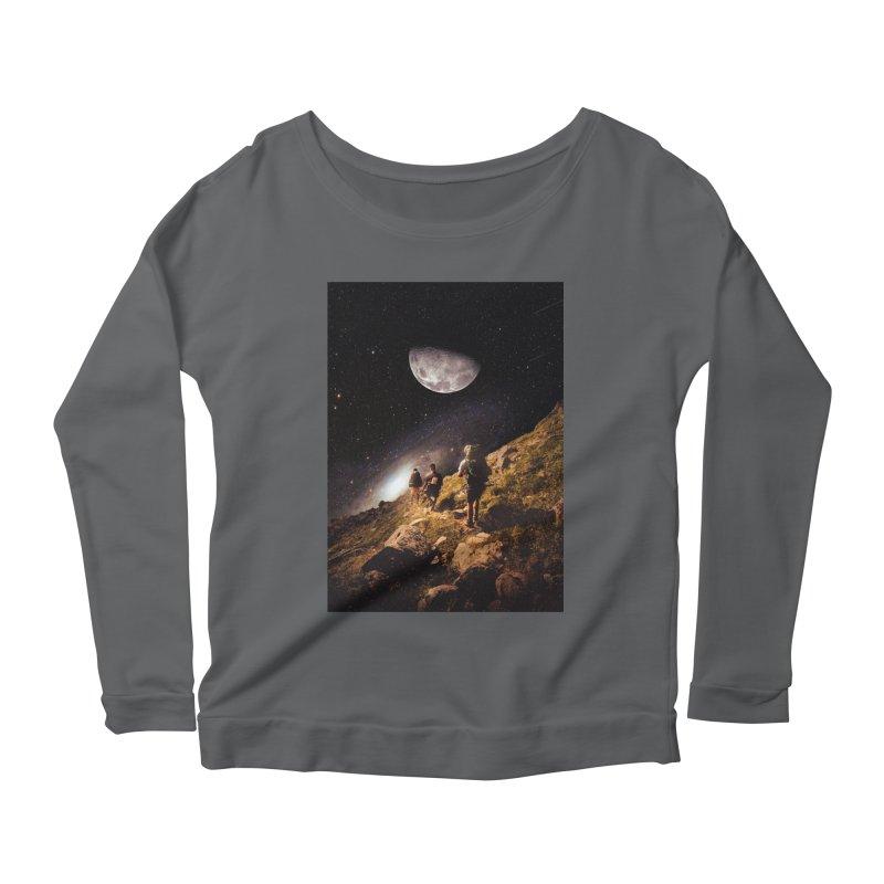 Traverse Women's Scoop Neck Longsleeve T-Shirt by nicebleed