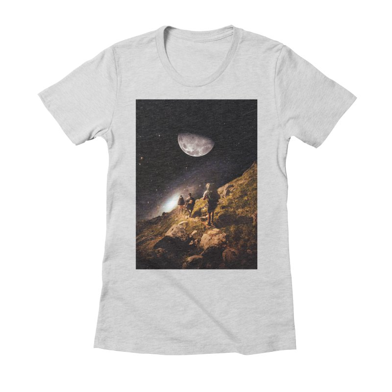 Traverse Women's Fitted T-Shirt by nicebleed
