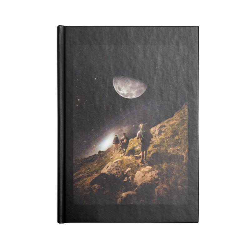 Traverse Accessories Blank Journal Notebook by nicebleed