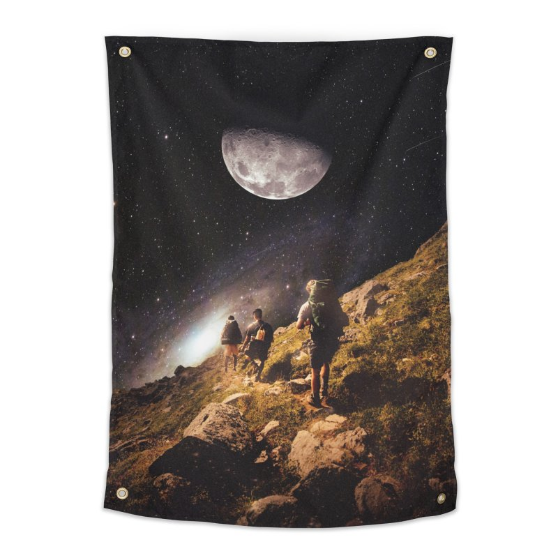 Traverse Home Tapestry by nicebleed