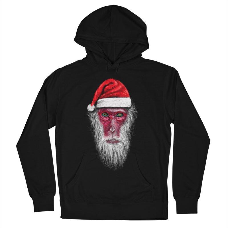 Santa Monkey Men's Pullover Hoody by nicebleed