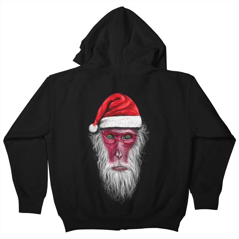 Santa Monkey   by nicebleed