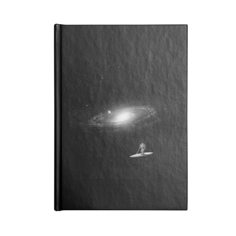 Drifter Accessories Lined Journal Notebook by nicebleed