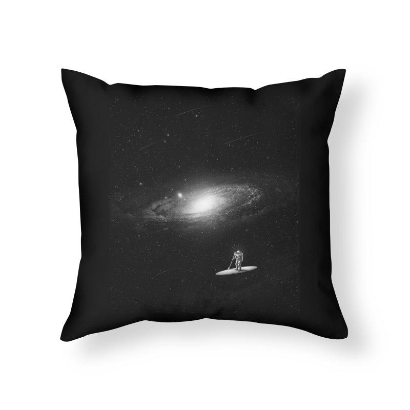 Drifter Home Throw Pillow by nicebleed