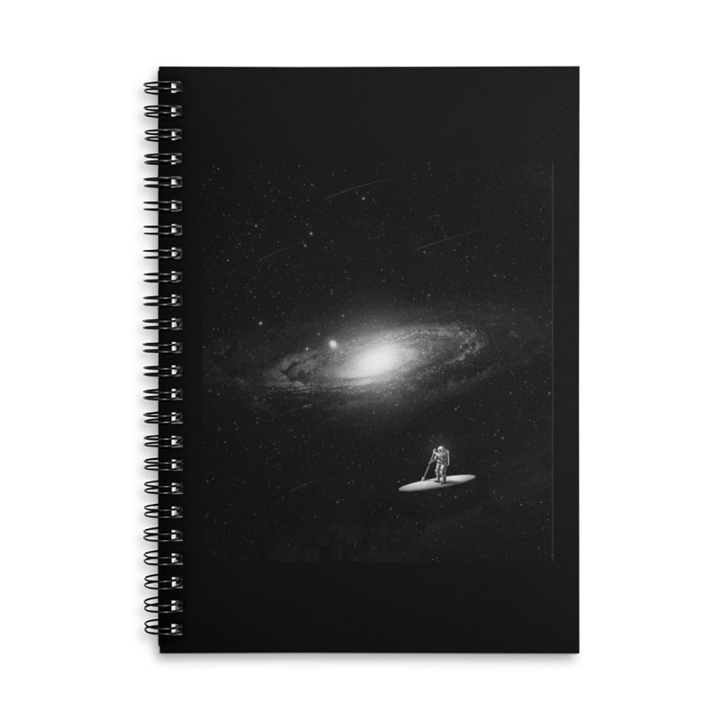 Drifter Accessories Lined Spiral Notebook by nicebleed