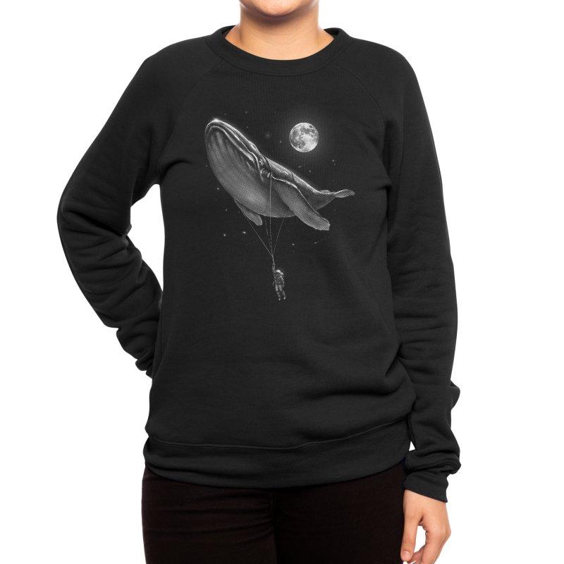 Hitching A Ride Women's Sweatshirt by nicebleed