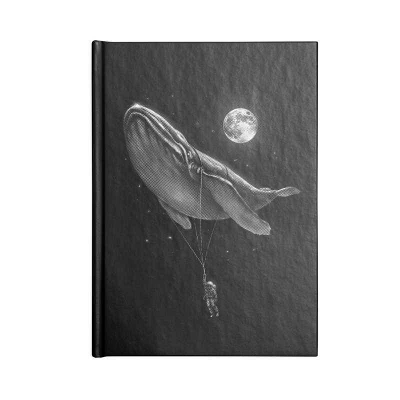 Hitching A Ride Accessories Notebook by nicebleed