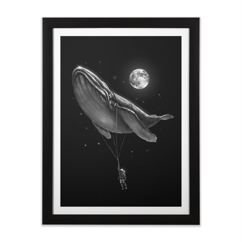 Hitching A Ride Home Framed Fine Art Print by nicebleed