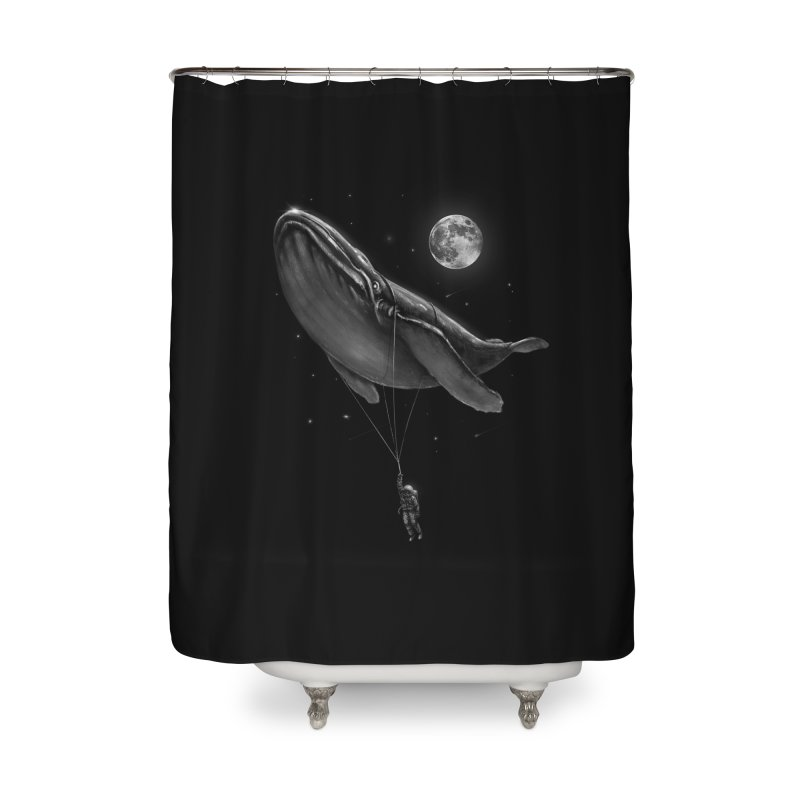 Hitching A Ride Home Shower Curtain by nicebleed
