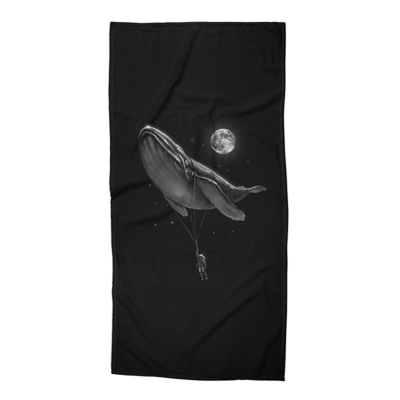 Hitching A Ride Accessories Beach Towel by nicebleed