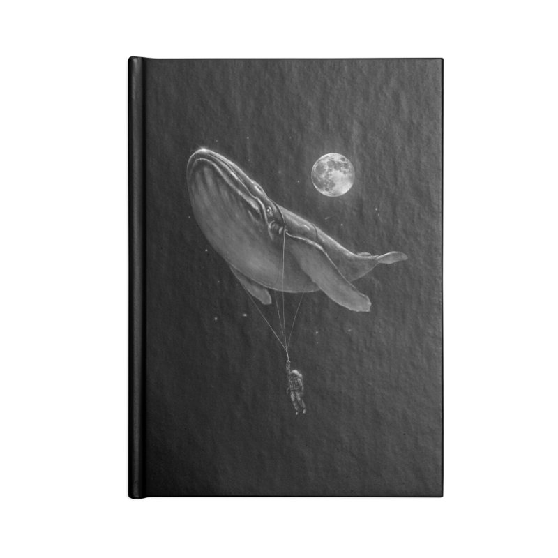 Hitching A Ride Accessories Blank Journal Notebook by nicebleed