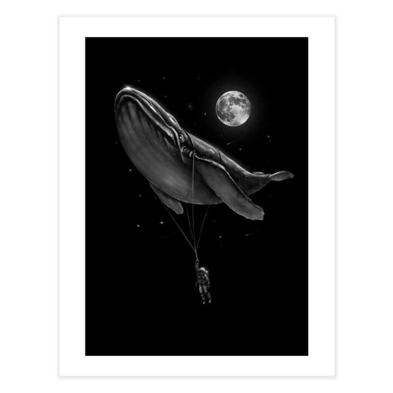 Hitching A Ride Home Fine Art Print by nicebleed