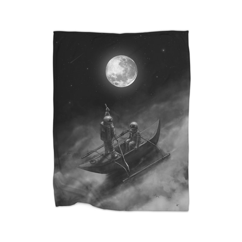 Anywhere With You Home Fleece Blanket Blanket by nicebleed