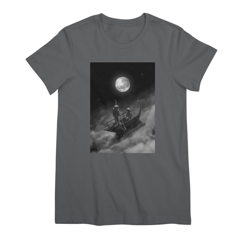 Anywhere With You Women's Premium T-Shirt by nicebleed