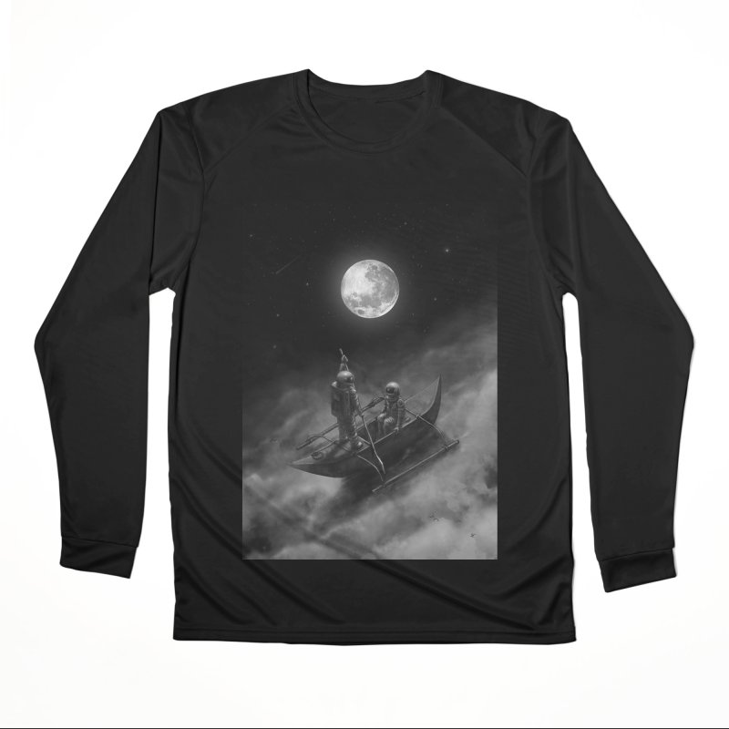 Anywhere With You Men's Performance Longsleeve T-Shirt by nicebleed