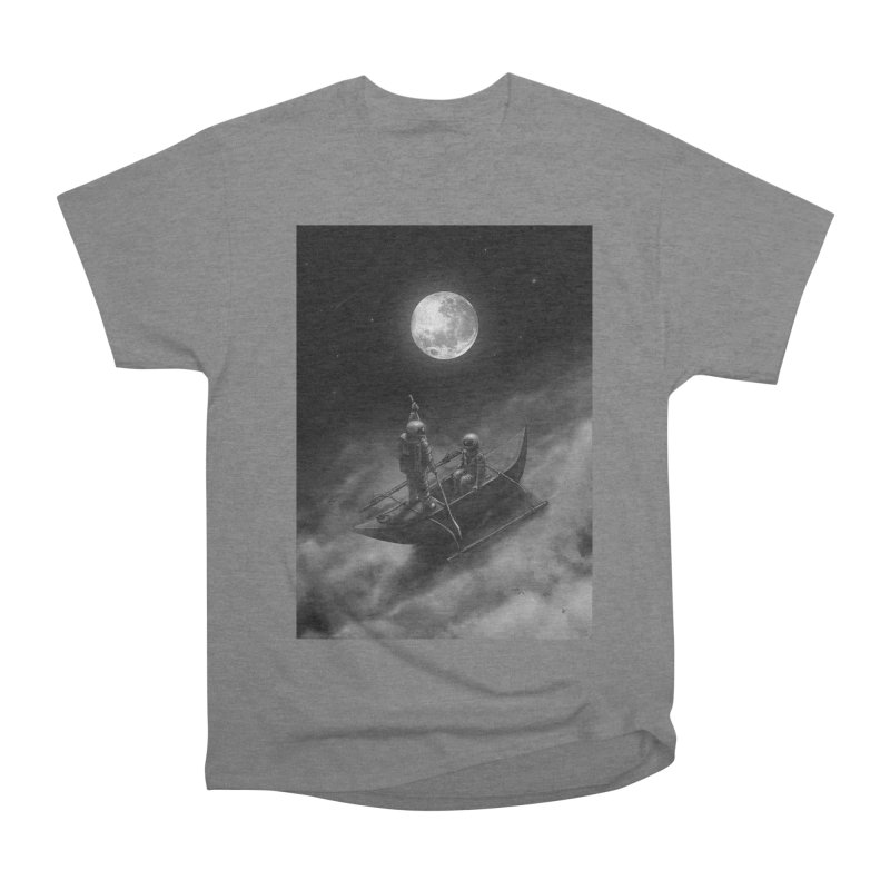 Anywhere With You Men's Heavyweight T-Shirt by nicebleed