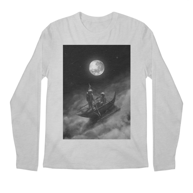 Anywhere With You Men's Regular Longsleeve T-Shirt by nicebleed