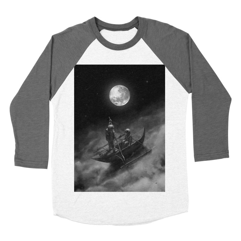 Anywhere With You Women's Baseball Triblend Longsleeve T-Shirt by nicebleed