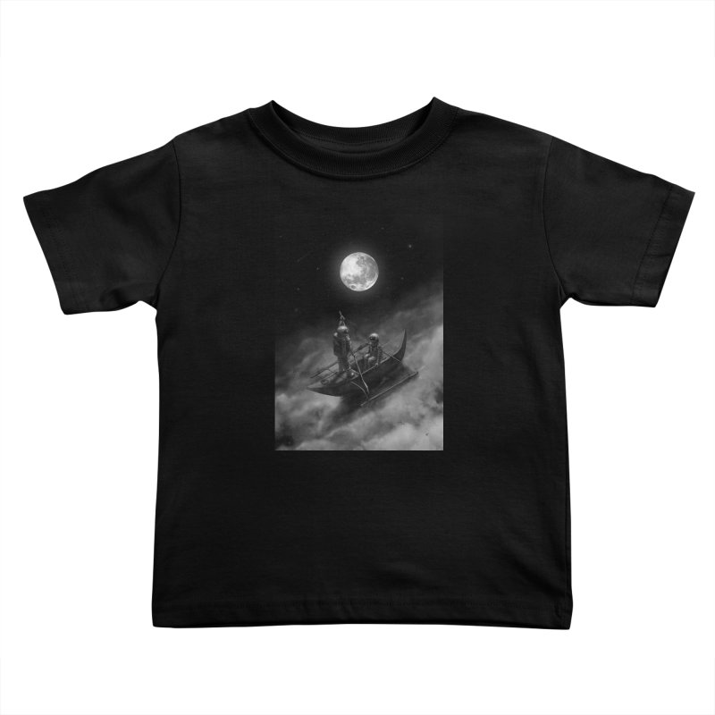 Anywhere With You Kids Toddler T-Shirt by nicebleed