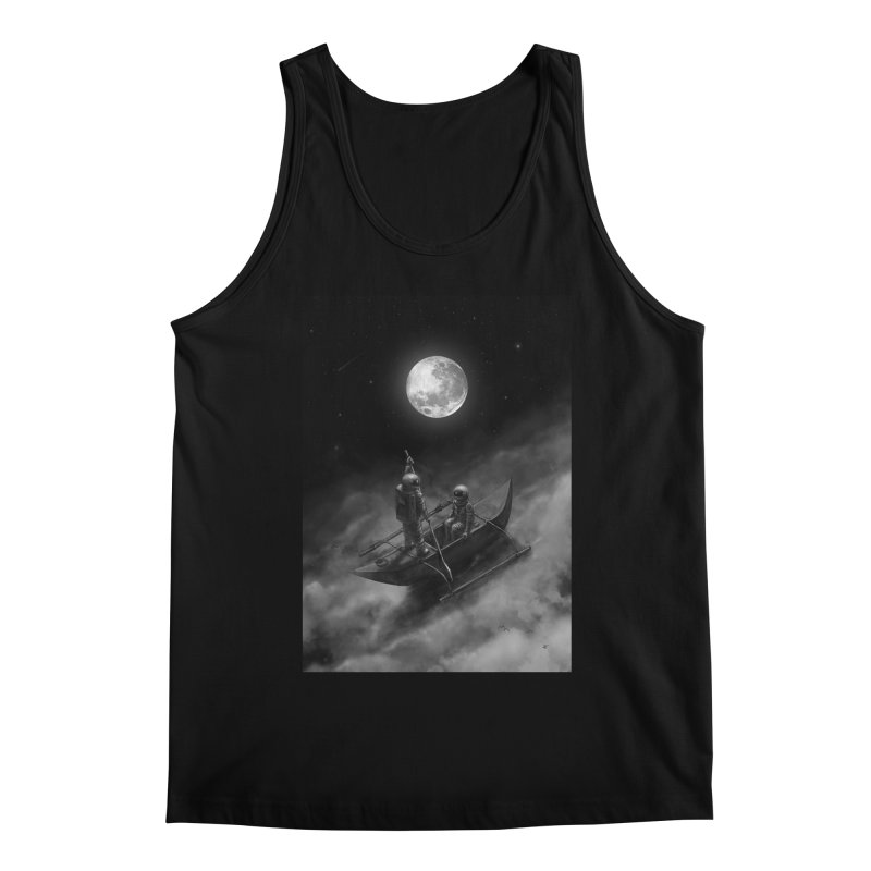 Anywhere With You Men's Regular Tank by nicebleed