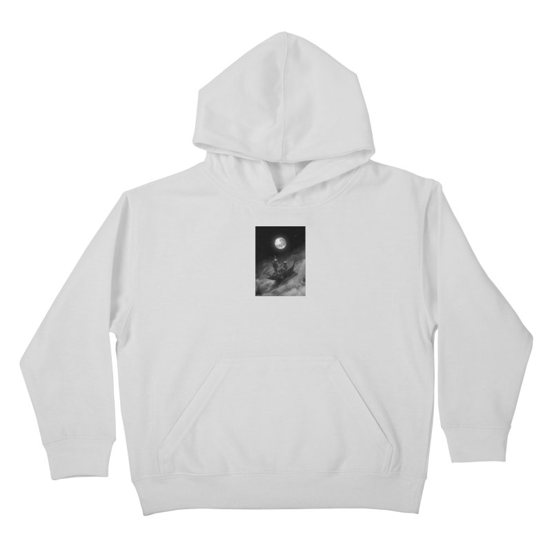 Anywhere With You Kids Pullover Hoody by nicebleed