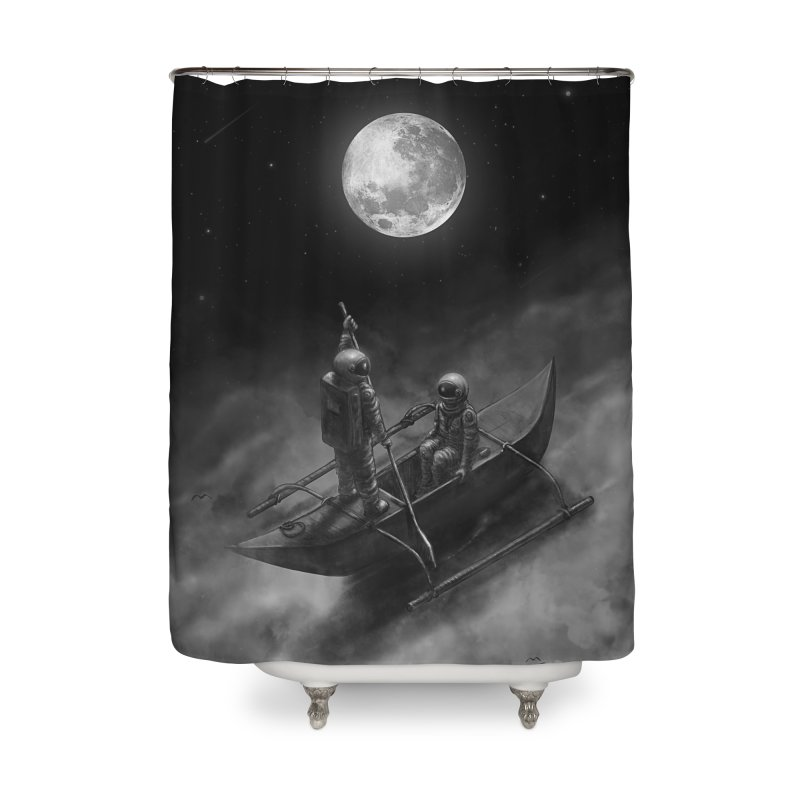 Anywhere With You Home Shower Curtain by nicebleed