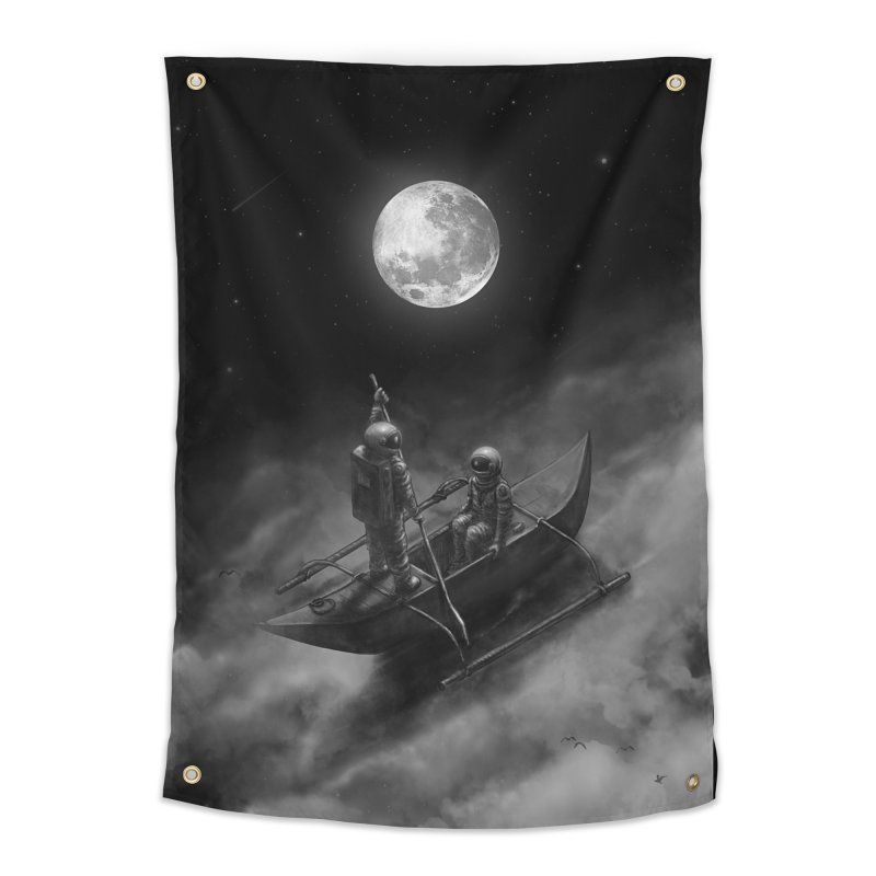 Anywhere With You Home Tapestry by nicebleed