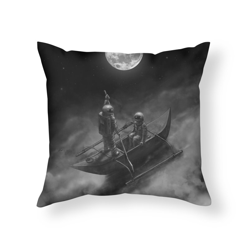 Anywhere With You Home Throw Pillow by nicebleed