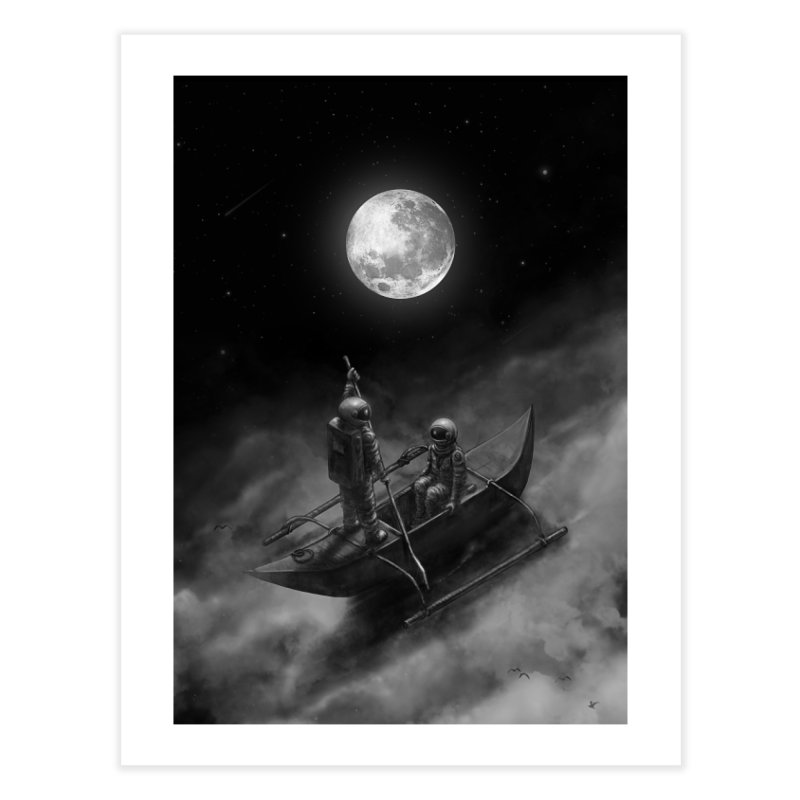 Anywhere With You Home Fine Art Print by nicebleed