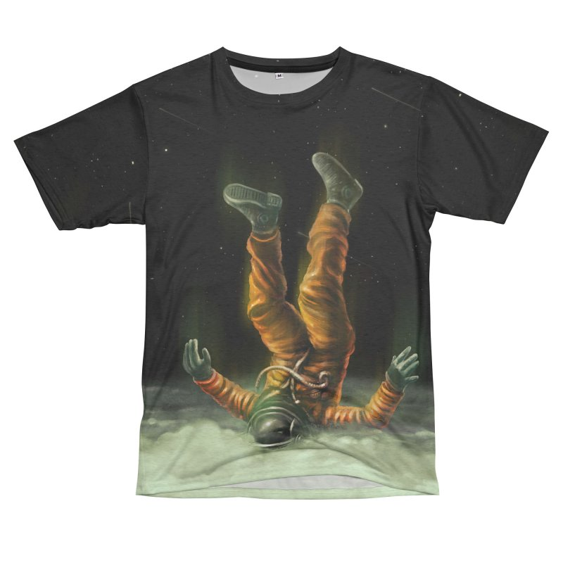 Shallow Clouds Women's Unisex French Terry T-Shirt Cut & Sew by nicebleed