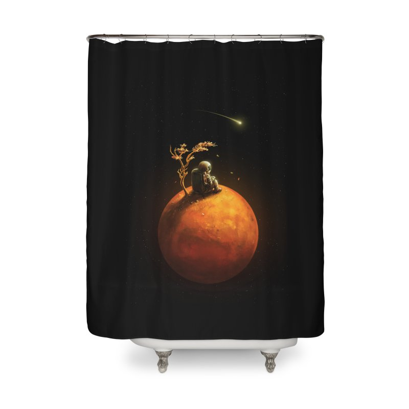 Stranded Home Shower Curtain by nicebleed
