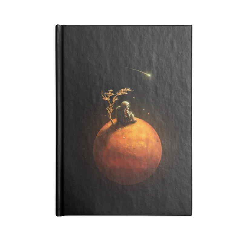 Stranded Accessories Blank Journal Notebook by nicebleed