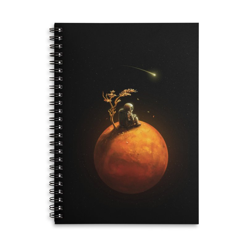 Stranded Accessories Lined Spiral Notebook by nicebleed