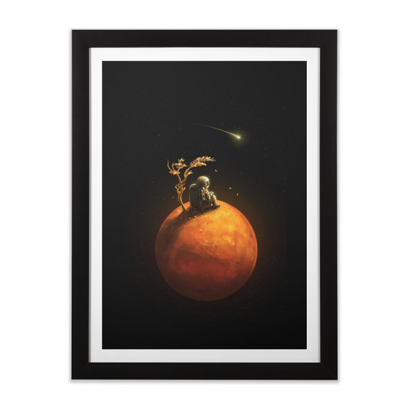 Stranded Home Framed Fine Art Print by nicebleed