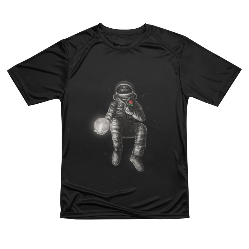 Moon and Back Men's Performance T-Shirt by nicebleed