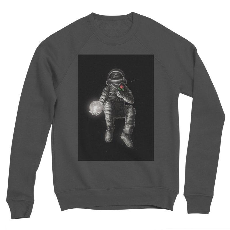 Moon and Back Women's Sponge Fleece Sweatshirt by nicebleed