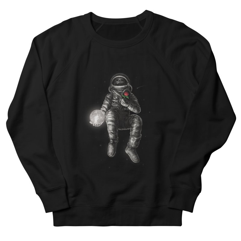 Moon and Back Men's French Terry Sweatshirt by nicebleed