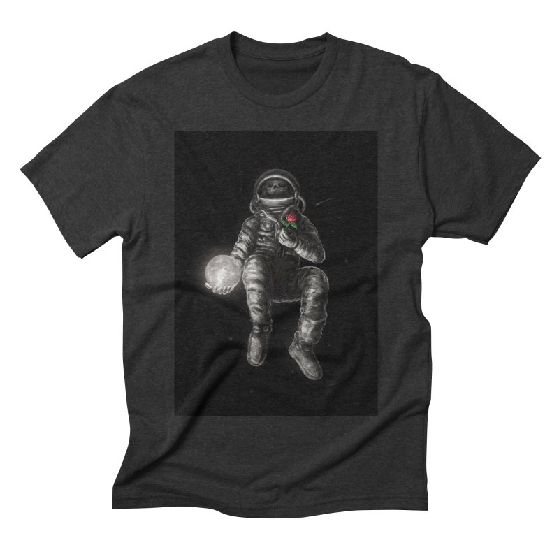 Moon and Back Men's Triblend T-Shirt by nicebleed