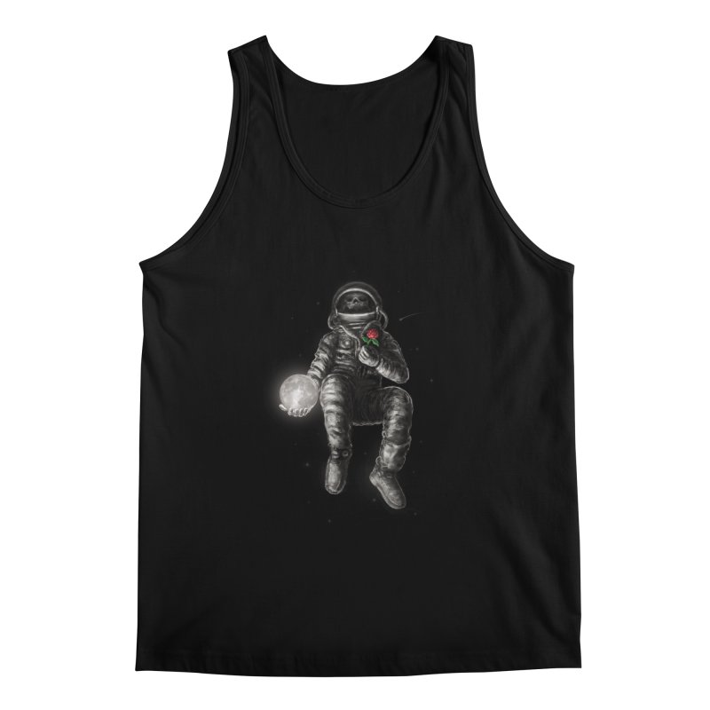 Moon and Back Men's Regular Tank by nicebleed