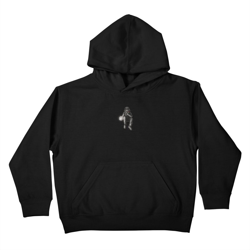 Moon and Back Kids Pullover Hoody by nicebleed
