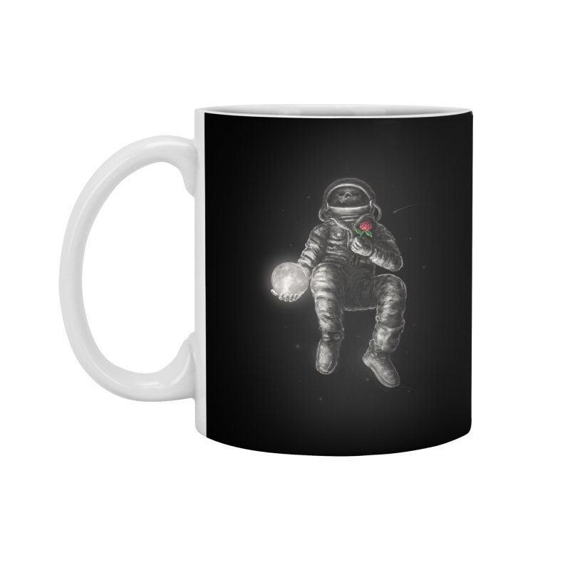 Moon and Back Accessories Standard Mug by nicebleed