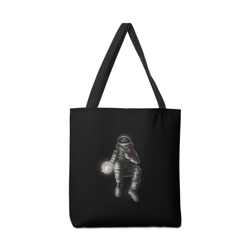 Moon and Back Accessories Tote Bag Bag by nicebleed