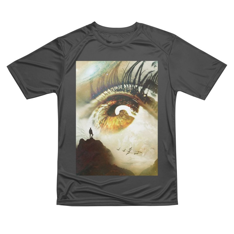 Vision Men's Performance T-Shirt by nicebleed