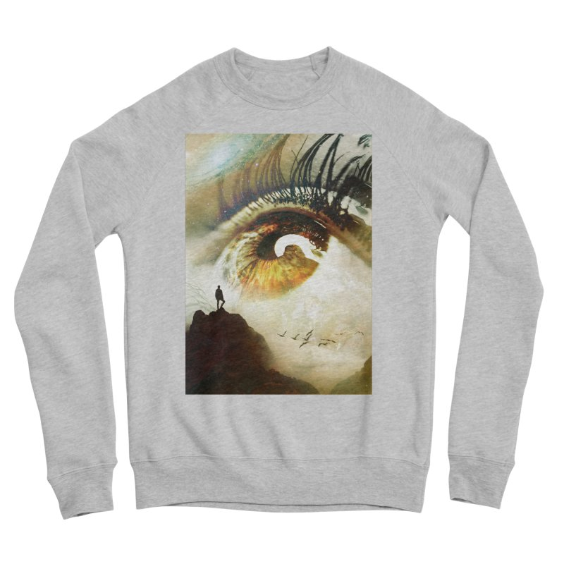 Vision Women's Sponge Fleece Sweatshirt by nicebleed