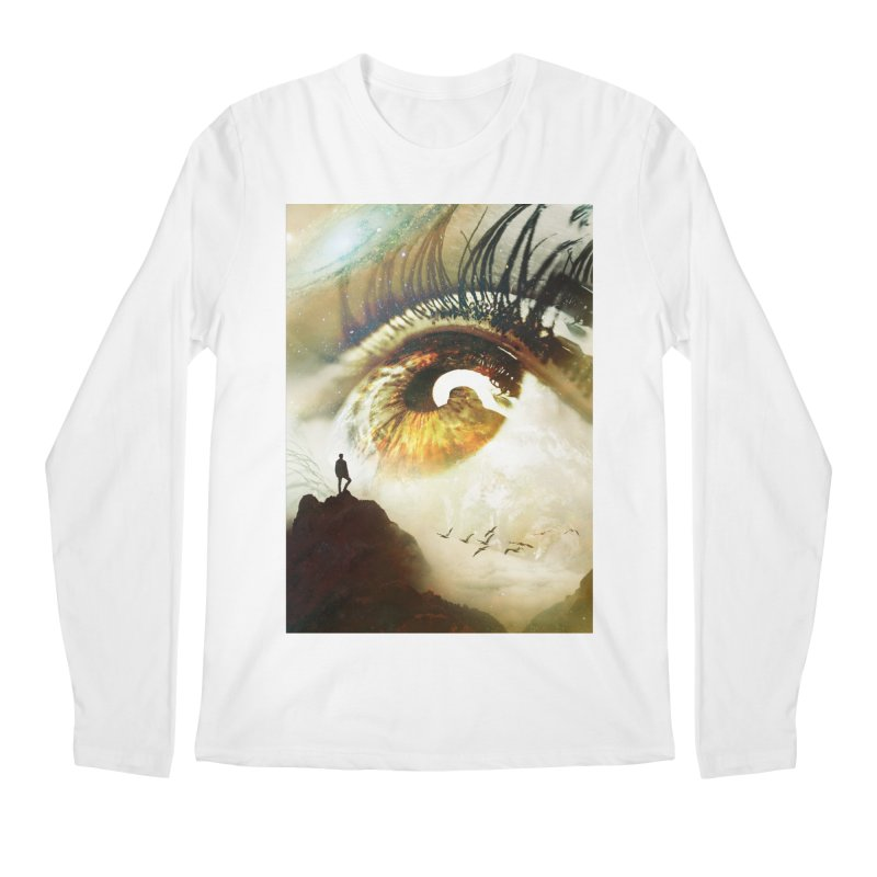 Vision Men's Regular Longsleeve T-Shirt by nicebleed