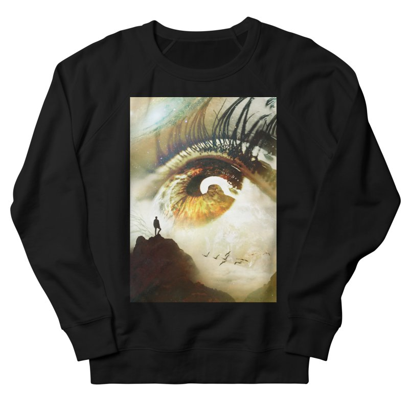 Vision Men's French Terry Sweatshirt by nicebleed