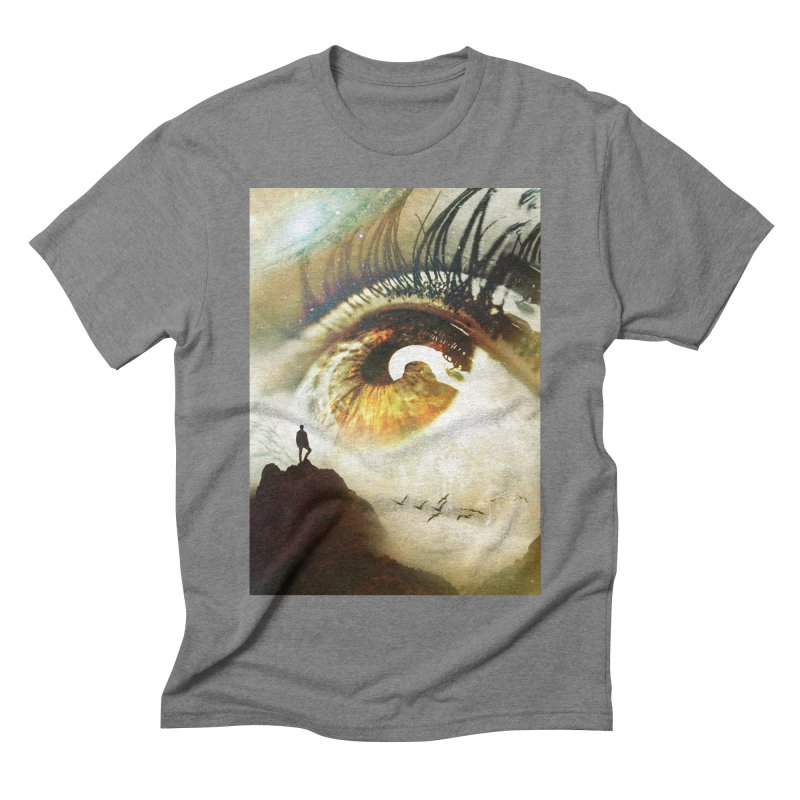 Vision Men's Triblend T-Shirt by nicebleed