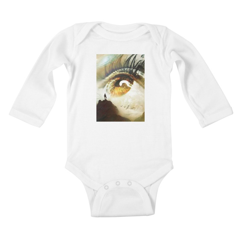 Vision Kids Baby Longsleeve Bodysuit by nicebleed